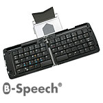 Bluetooth B-Speech QWERTZ-Tastatur